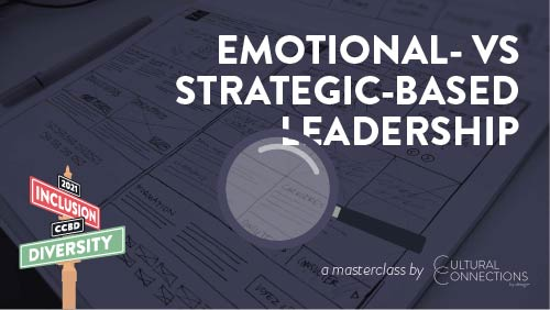 Banner for Emotional vs Strategic based Leadership