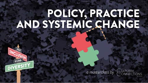 Banner for Policy Practice and Systemic Change